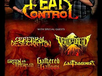 Fear Control / Cerebral Desecration @Dirty Dog - 4/15