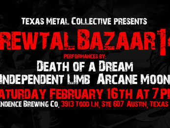 Brewtal Bazaar 14 @ Independence Brewery - Austin, TX - 2/16