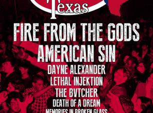 SXSW 2018 - Don't Mosh With Texas - Official Showcase @ DIrty Dog Bar, Austin TX - 3/17