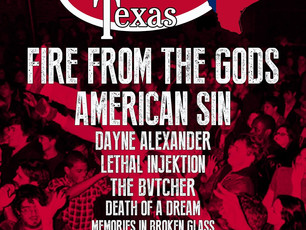 SXSW 2018 - Don't Mosh With Texas - Official Showcase @ DIrty Dog Bar, Austin TX - 3/17