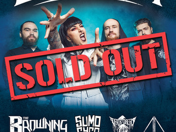 Jinjer / The Browning / Aaerial - Sept. 19