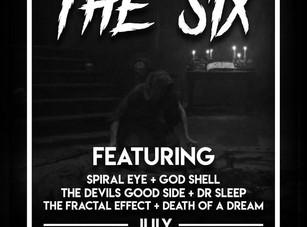 NH4A Presents : The Six @ Texas Mist - Austin, TX - 7/6