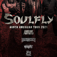 Soulfly / Suicide Puppets and more @ Come and Take It Live - Wed. 9/15