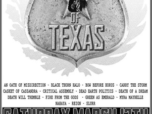 Metal Monsters of Texas 2016 @Dirty Dog - 3/12
