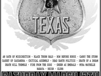 Metal Monsters of Texas 2016 @Dirty Dog - 3/12