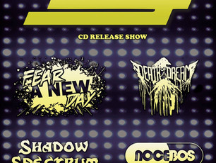 Lug / Fear A New Day / Death Of A Dream / Shadow Spectrum / Nocebos @ CATIL - 11/4