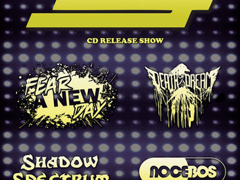 Lug / Fear A New Day / Death Of A Dream / Shadow Spectrum / Nocebos @ CATIL - 11/4