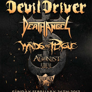 Bound By The Road Tour - Devil Driver / Death Angel / Winds Of Plague @ Grizzly Hall ATX - 2/26