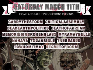 SXSW Metal Monsters Of Texas 2017 @ Grizzly Hall, Austin TX - 3/11