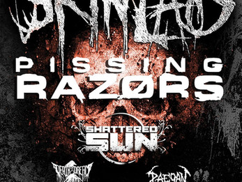 Brothers In Blood Tour 2018 Skinlab / Pissing Razors @ CATIL, Austin TX - 2/2