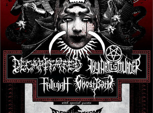 Double Homicide Tour / Decapitated / Thy Art Is Murder @ CATIL, Austin TX - 8/26