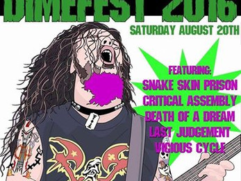 Dimefest 2016 @Dirty Dog - 8/20