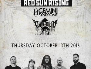 Sevendust / Red Sun Rising @Empire Control Room - 10/13 - Birth Of A Nightmare CD Release Party