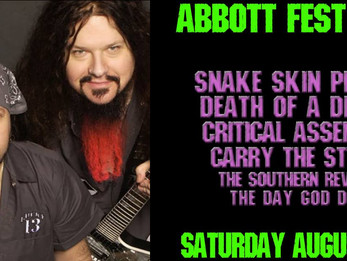 Abbott Fest: Celebrating The Lives and Music of 2 Legends @ Dirty Dog Bar - ATX - 8/11