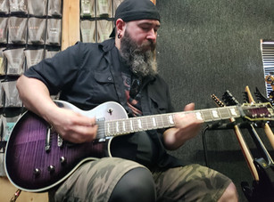 Studio Update / Trey - Guitars