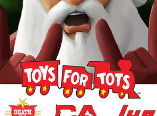 10th Annual Toys For Tots @ Dirty Dog Bar - Austin, TX - 12/8