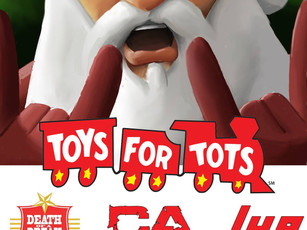10th Annual Toys For Tots @ Dirty Dog Bar - Austin, TX - 12/8