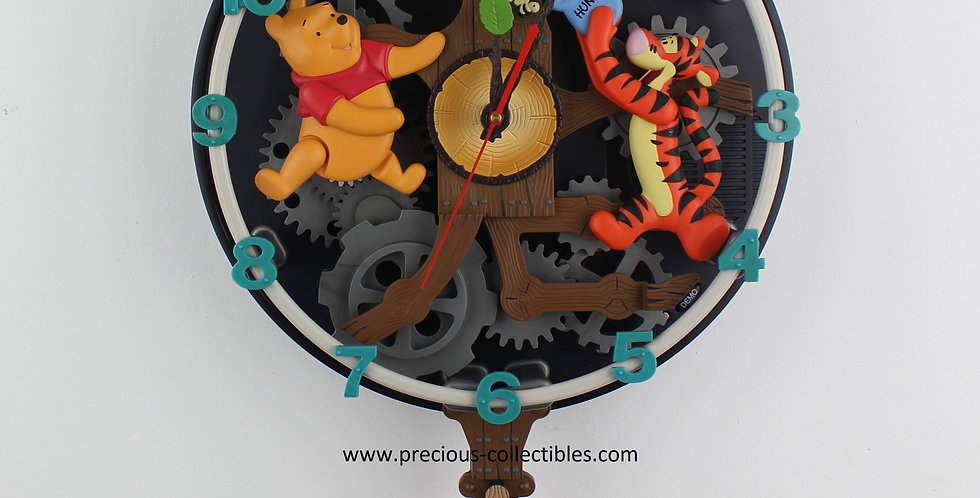 Winnie the pooh;Piglet;Tigger;Animated Clock;Superfone;Superphone;Walt disney;For sale;Shop;Store;Product;collectible;cartoon