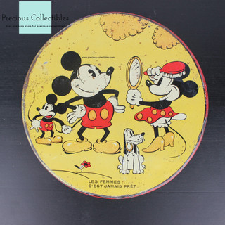 Mickey, Minnie Mouse and Pluto canister