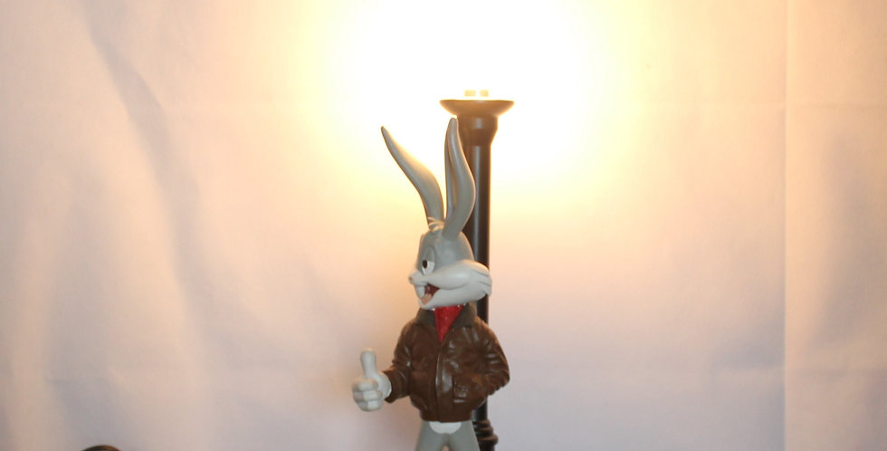 Bugs Bunny;Lamp;Street Corner;Fonz;Fonzie;Demons Merveilles;Warner Bros;Warner Brothers;Street lanter;Collectible;Collectable