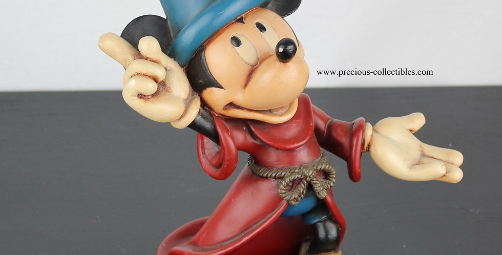 Mickey Mouse as the sorcerer's apprentice mid figurine walt disney from polyester peter mook for sale sculpture figurine