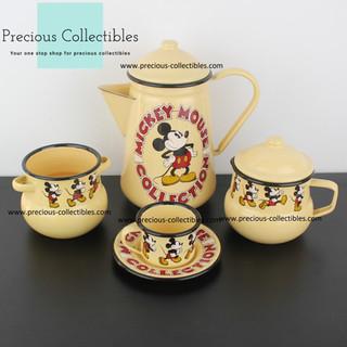 Mickey Mouse enamel tableware