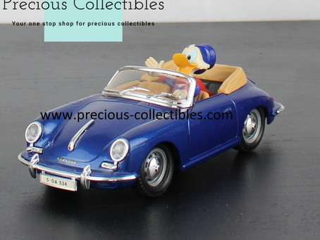 Collectible Walt Disney model cars by Bburago
