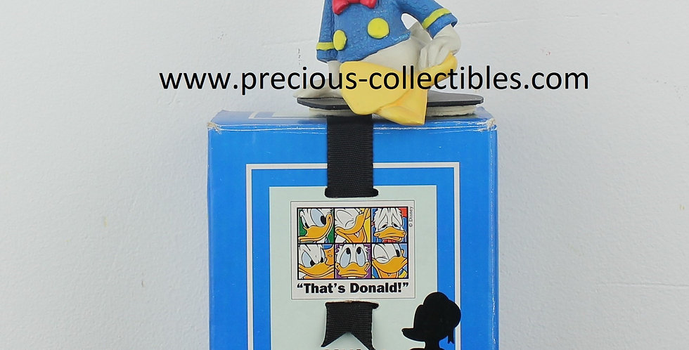 Donald Duck;Sitting;proud;emotions;statue;figurine;sculpture;character;enesco;walt disney;for sale;shop;gift;cartoon;precious