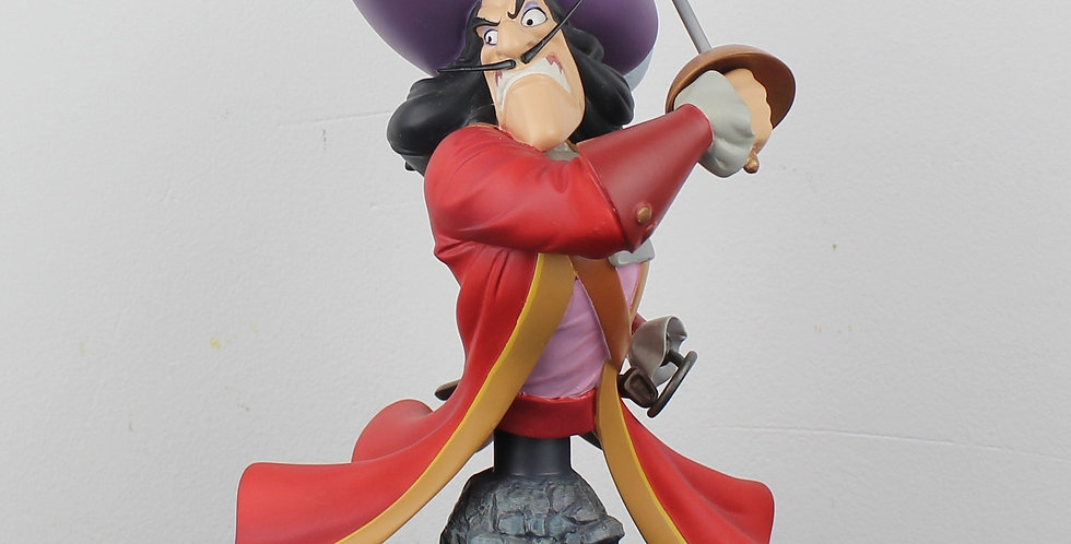 Captain Hook;Peter Pan;Grand Jester;Walt Disney;Pirate;Buste;Sculpture;Limited edition;shop;product;for sale;store;comic;