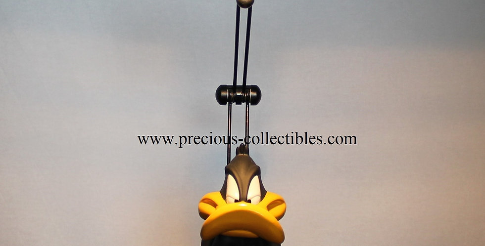 Daffy Duck sculptured desk lamp made by Casal year 2000 Looney Tunes Warner Bros Vintage collectible for sale webshop