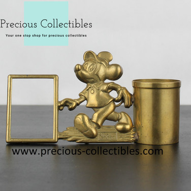 Mickey Mouse picture frame and Pen Holder
