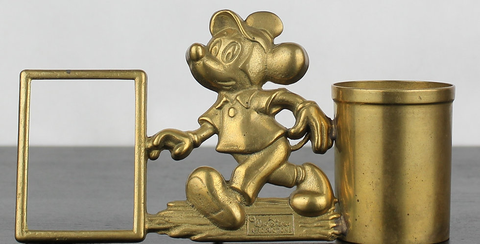 Mickey Mouse picture frame with pen container