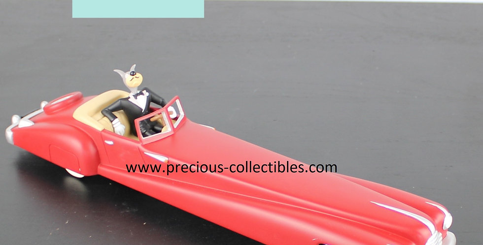 Wolf;Tex Avery;Limousine;Car;Driving;Demons Merveilles;Extremely Rare;Collectible;Product;Store;For Sale;Gentleman;Red;Droopy
