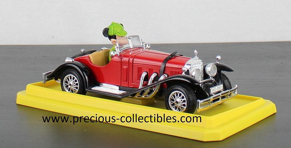 Mickey Mouse;Bburago;Walt Disney;Burago;Mercedes-Benz SSK;Cod 2301;Collectible;Car;Classic;Model;For Sale;Shop;Store;Rare;
