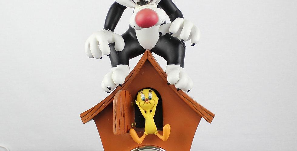 Tweety;Sylvester;Cuckoo Clock;Warner Bros;Looney Tunes;Peter Mook;Fingendi;Rutte;Rutten;Shop;Store;Webshop;For Sale;Sculpture