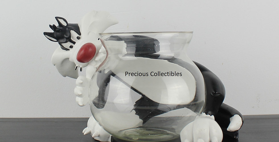 Sylvester;Fish Bowl;Cat;Goldfish;Warner Bros;Brothers;Looney Tunes;SHop;Store;For Sale;Collectible;Collectable;Comic;Cartoon;
