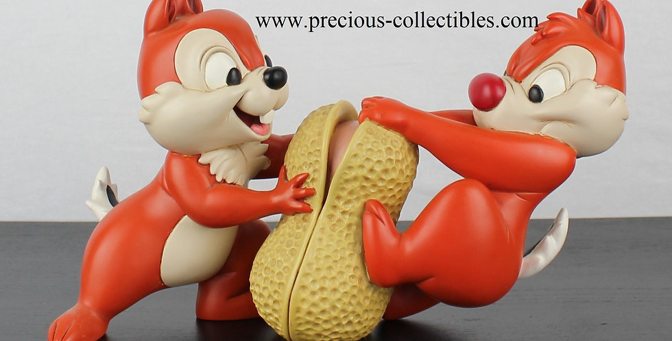 Chip;Dale;Chipmunks;Walt Disney;Statue;Sculpture;Figurine;Rare;For Sale;Polyresin;Peter Mook;Fingendi;Rutte;Rutten;Disneyland