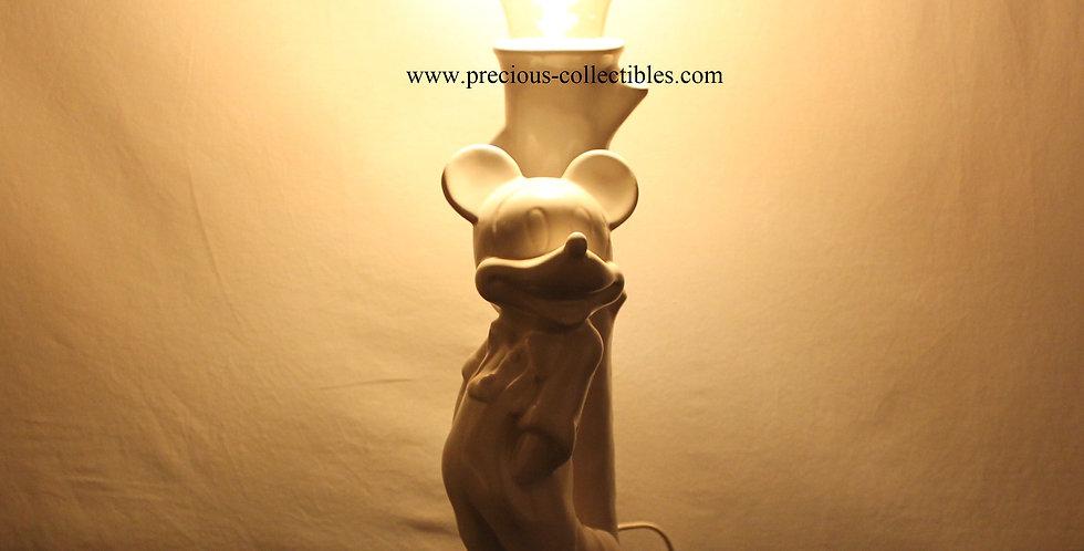 Mickey Mouse;Lamp;Walt Disney;Shop;Store;For Sale;Rare;Unique;Ceramic;Vintage;Minnie Mouse;Light;Tablelamp;Unique;Rare;Bulb;