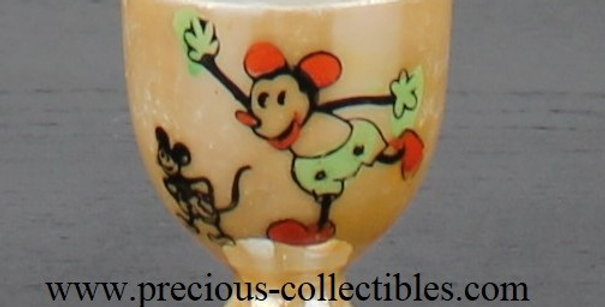 Mickey Mouse antique egg-cup