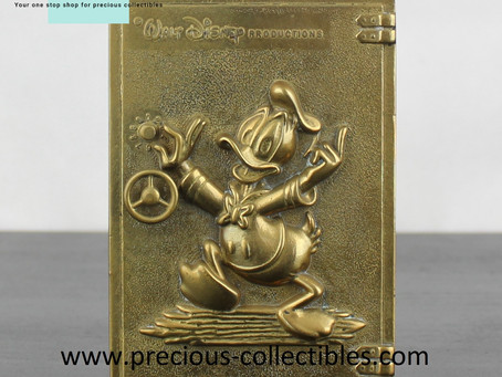 Brass Walt Disney items by GATCO