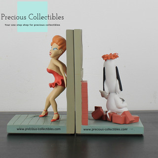 Droopy and Red bookends