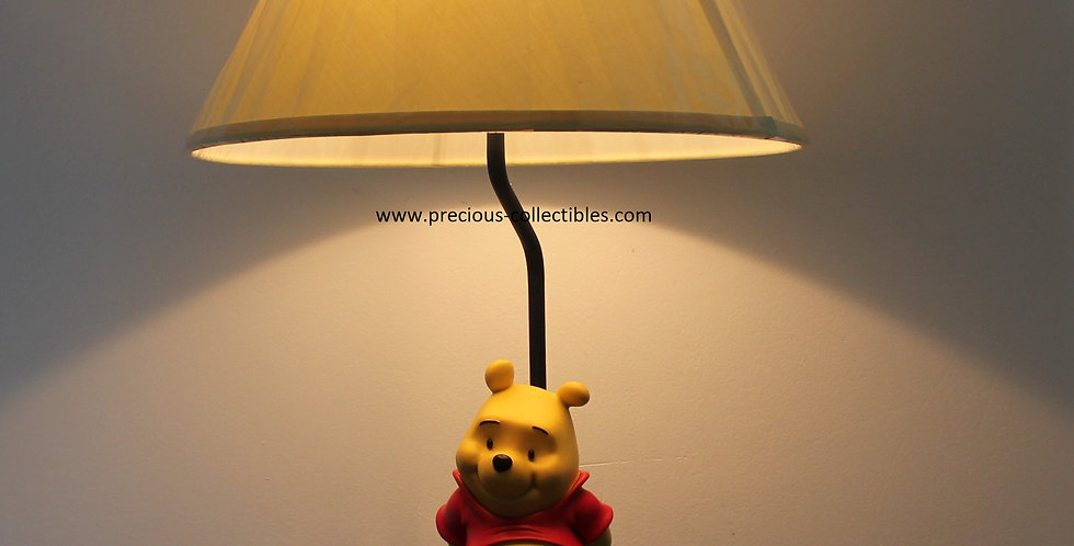 Winnie the Pooh;Lamp;Table;Light;Walt Disney;Rutte;rutten b.v.;fingendi;collectible;collectable;peter mook;shop;for sale;gift