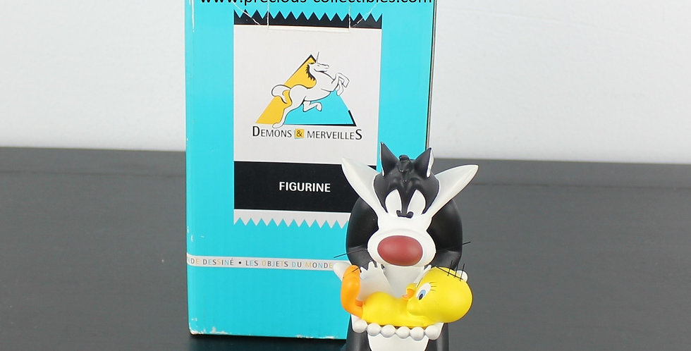 Sylvester;Tweety;Cat;Canary;Bird;Demons Merveilles;Looney Tunes;Warner Bros;Brothers;Store;Shop;For Sale;New;Boxed;Collectibl