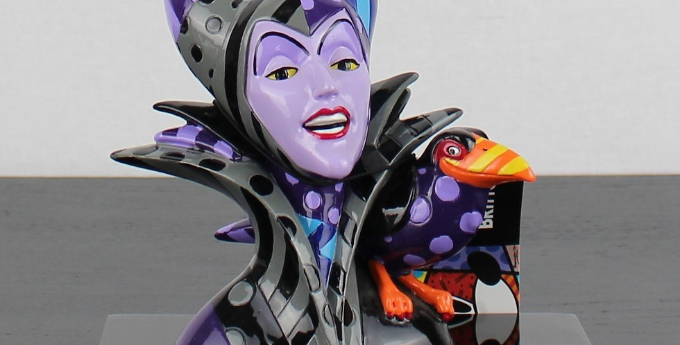 Malificent;Sleeping Beauty;Romero;Britto;Walt Disne;Villain;Witch;For Sale;Product;Rare;Collectible;Collectable;Store;Boxed;