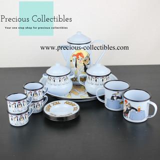 Tex Avery enamel tableware