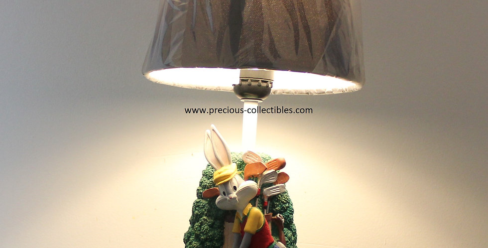Bugs Bunny;Golf;Lamp;Table;Looney Tunes;Warner Bros;Fingedi;Shop;For Sale;Store;Statue;Figurine;Collectible;Collectable;Preci