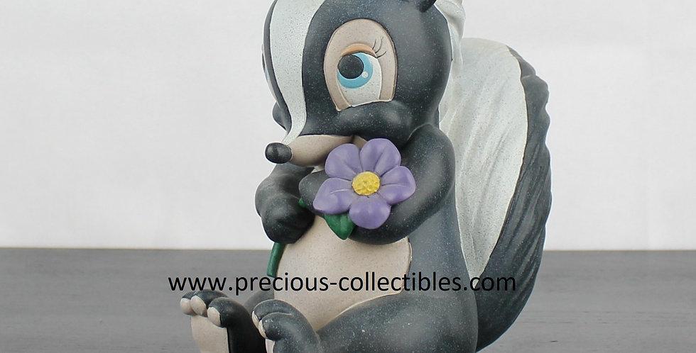 Flower;Skunk;Bambi;Statue;Disneyland Florida;Epcot garden festival;Walt disney;Collectible;for sale;shop;gift;precious