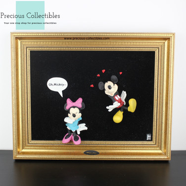 Mickey and Minnie Mouse 3D art work