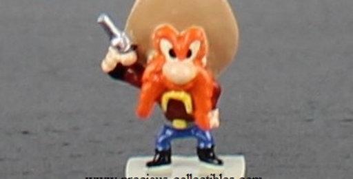 Yosemite Sam;Pixi;Statue;Sculpture;1996;miniature;figurine;Looney Tunes;Warner Bros;Bugs Bunny;Store;Gift;Shop;cowboy