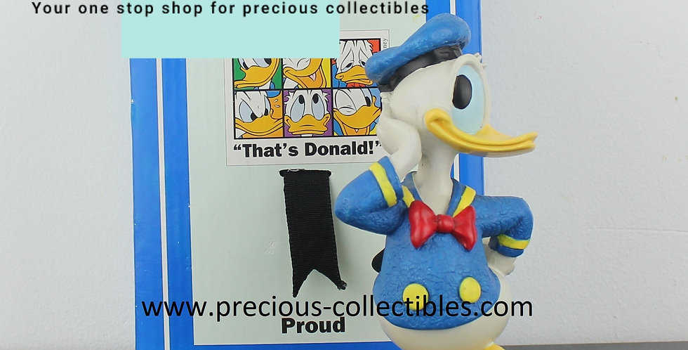 Doonald Duck;proud;Enesco;Walt Disney;statue;figurine;for sale;store;shop;comic;cartoon;emotions;polyester;precious collectib
